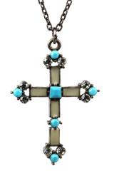 Kreuz mit Türkisen