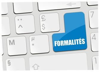 clavier formalités