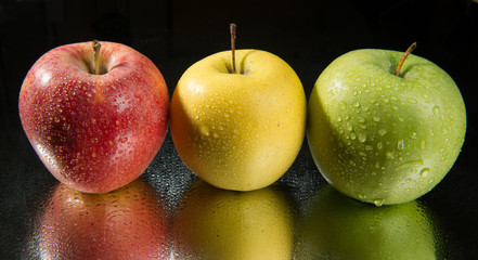 Pommes tricolor