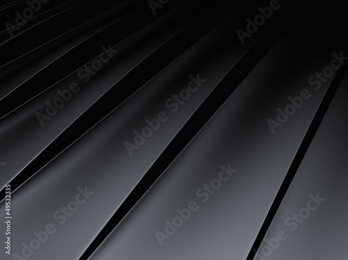 Striped metallic background