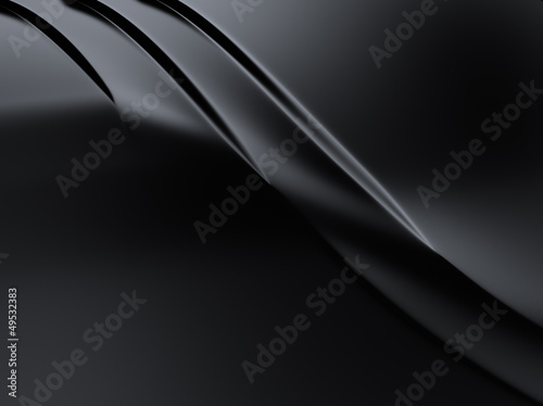 Elegant curved metallic background