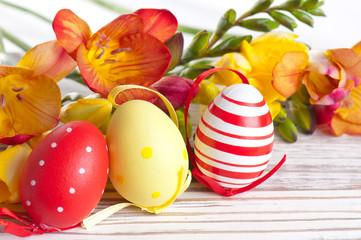 Ostern mit 3 Ostereiern
