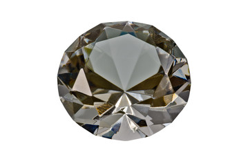 Diamant, isoliert