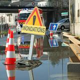 inondation d'une rue