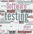 V Model software development Concept