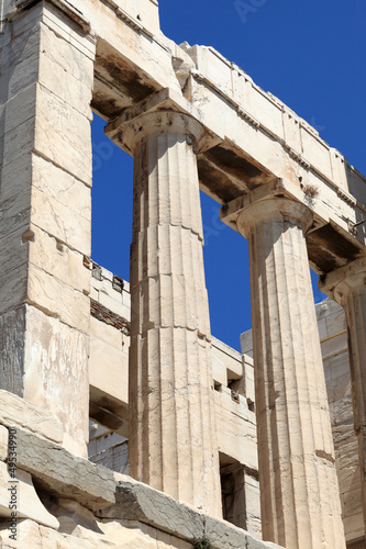 Part of Propylaea of the Athenian Acropolis