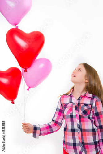 luftballons mit herz