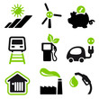 Useful icons green energy