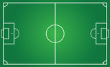 football pitch for team plan poster