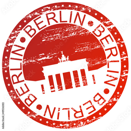 Stamp - Berlin, Germany
