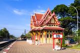 Royal pavilion at hua hin railway station, Prachuap Khiri Khan,