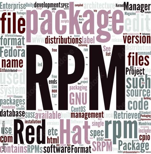 RPM Package Manager Concept