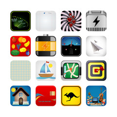 App set of icons