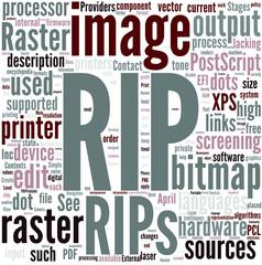 Raster image processor Concept