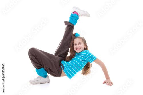 Aluminium Dans child dance exercising