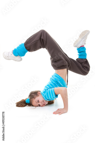 hip hop , street or break dancer
