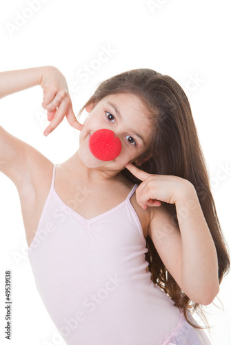 red nose day kid