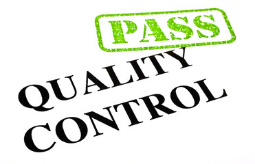 Passing Quality Control