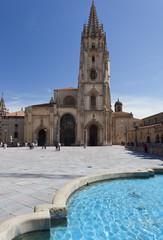Oviedo ,plaza de la Catedral.