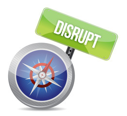 Disrupt on a compass