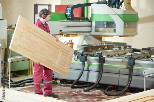 carpentry wood door production