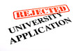 University Application REJECTED