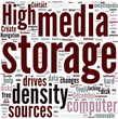 High density storage media Concept
