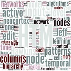 Hierarchical temporal memory Concept