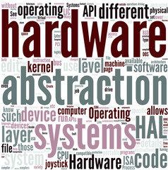 Hardware abstraction layer Concept