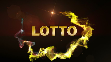 Lotto Text in Particle (2 variation) - HD1080