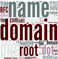 Fully qualified domain name Concept