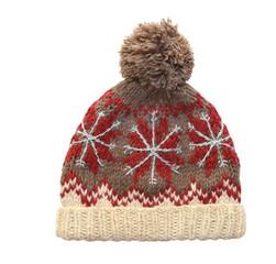 winter cap on whaite background