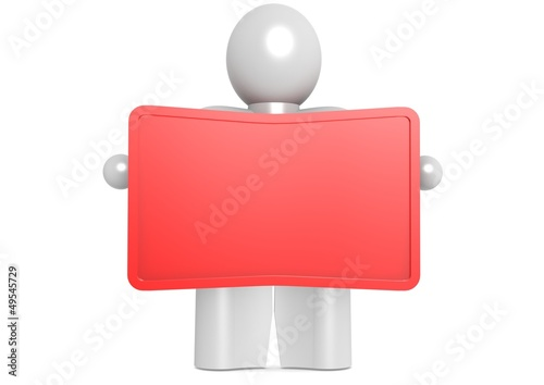 Red display holding