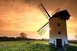 Medieval tower windmill in Chapel Allerton, Somerset, England