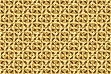 abstract seamless brown wickerwork pattern