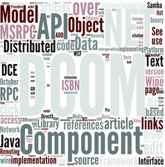 Distributed Component Object Model Concept