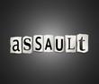 Assault concept.