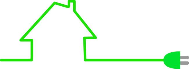 Einfamilienhaus mit Ökostrom versorgen