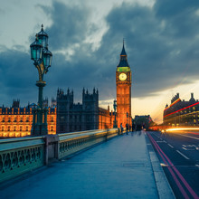 Big Ben la nuit, Londres