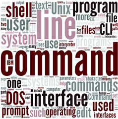 Command line interface Concept