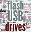 USB flash drive Concept