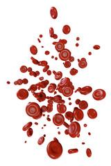blood cells - 3D Render