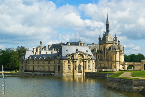 Chateau de Chantilly ( Chantilly Castle ), france