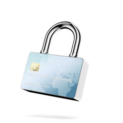 Secure Payments. Closed lock