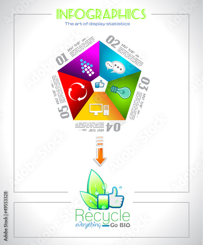 Infographic design  for BIO product ranking
