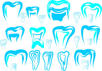 logo tooth for dental clinics