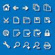 Iconset 1 Blau