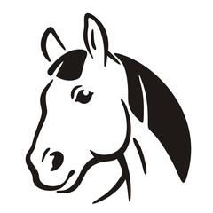 Symbol Logo Horse
