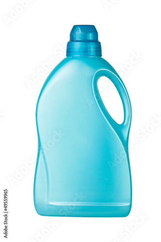 container detergent blue