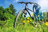 Fototapety Fahrrad Ausflug Erholung Sommer – Bike in Nature Landscape